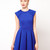 Ted Baker Lantern Skirt Dress in Blue | Lyst
