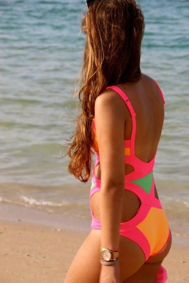 swimwear bikini color swimmsuit