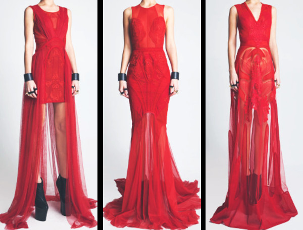 dress formal prom red sheer overlay red prom dress prom dress red dress long prom dress