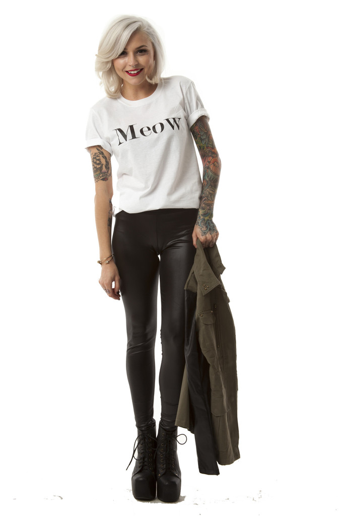 Angelina Vegan Leather Leggings – Wunderlust