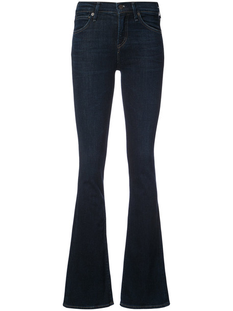 CITIZENS OF HUMANITY jeans women spandex cotton blue