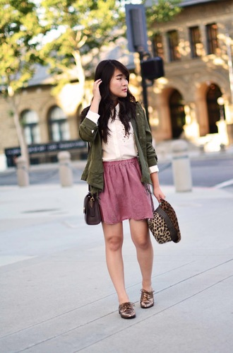 daily disguise blouse jacket skirt hat bag shoes