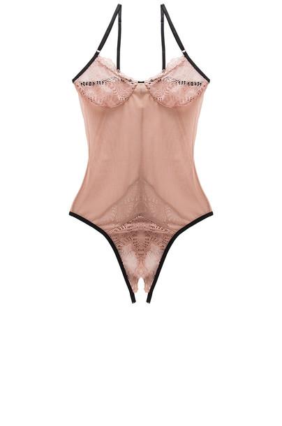 only hearts bodysuit sweet rose underwear