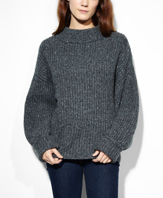 Levi's Dolman Sleeve Sweater - Soot Grey - Sweaters & Fleece