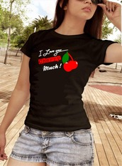 shirt,love quotes,love-shorts,cherry,lovely,sexy,i love you,cherry love,funny shirt,funny t-shirt,love shirts