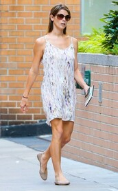 dress,sunglasses,summer outfits,ashley greene,shoes
