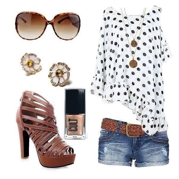 blouse shoes jewels