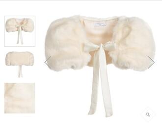 helena fashion baby clothing bolero fur kids fashion