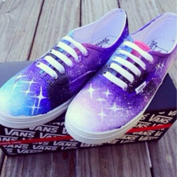 cc4f4587cdf3 shoes Vans galaxy