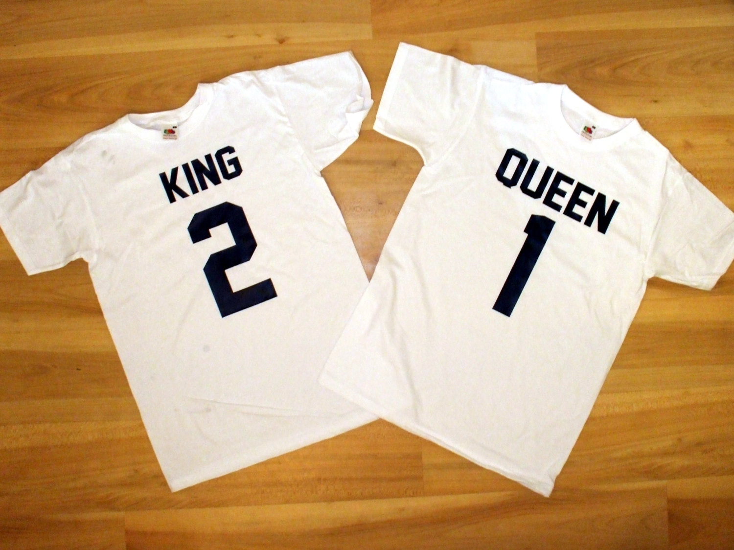 Amazoncom king queen prince shirts