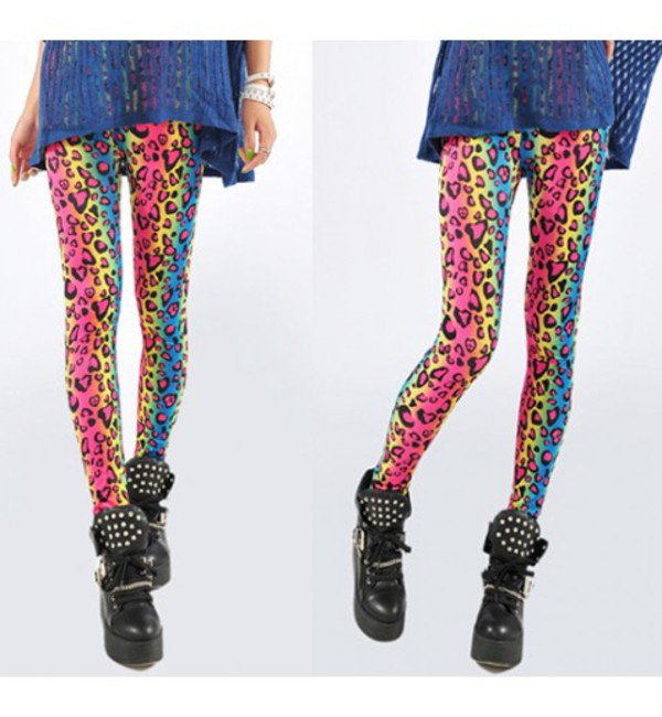 leggings multicolour leggings