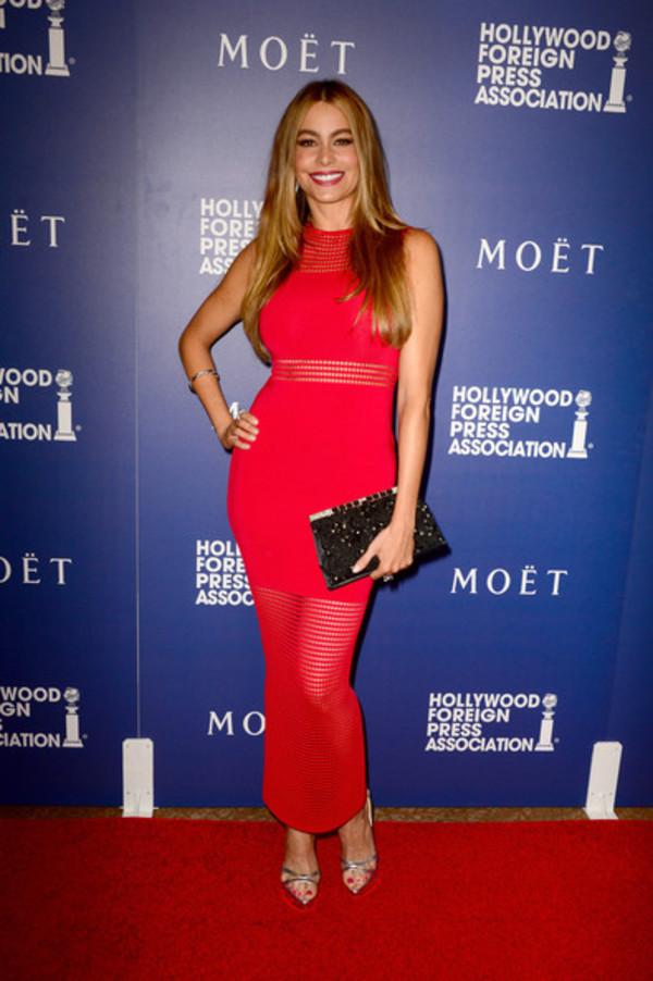 sofia vergara dress red dress