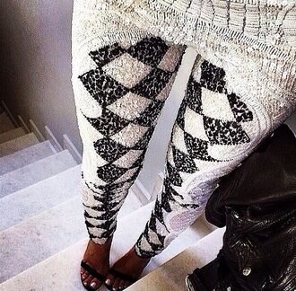 leggings sequins sequin leggings sparkle jeggings black and white black and white checkered leggings checkered balmain