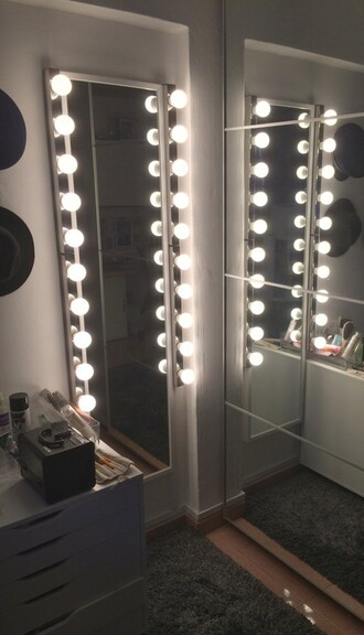 home accessory mirror lights makeup table