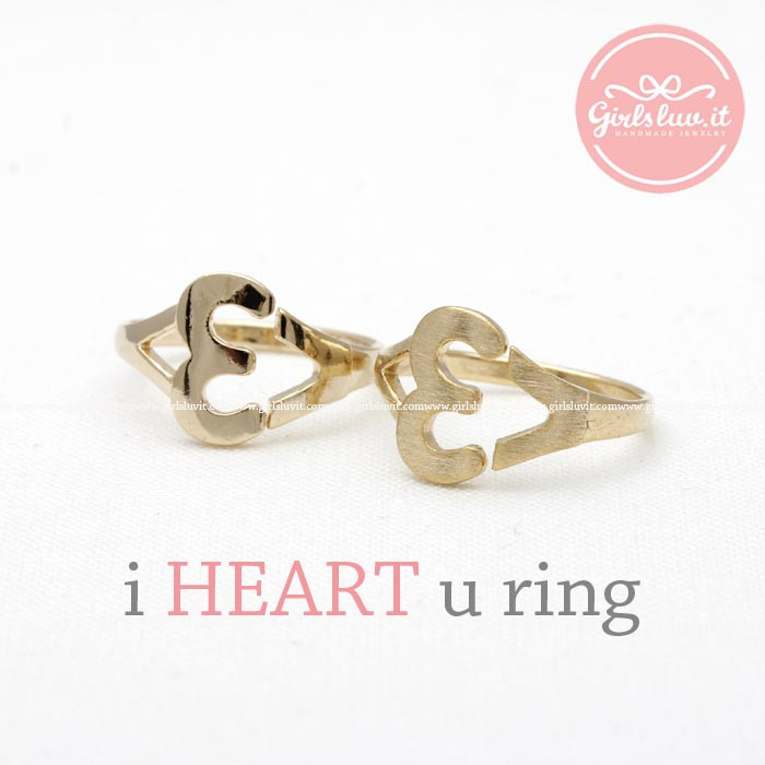 I heart you ring, 2 colors