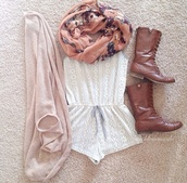 shirt,shoes,cardigan,shorts,romper,jumpsuit,pattern,white,summer,spring,dress,floral,scarf,pink,onesie,cute,girlie,boots,short,designs,pajamas,sweater,lace romper,lace,white romper,brown boots,cowboy boots,pink cardigan,girly,boho,combat,brown,akle,peace,light