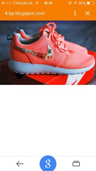shoes nike woman flowers nike nike running shoes roshe runs nike free run nike shoes womens roshe runs