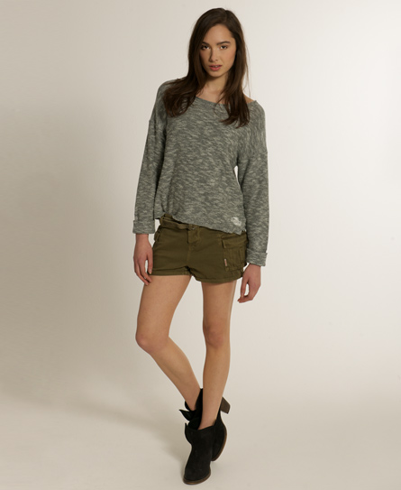 Superdry Military Cargo Shorts - Women's Shorts