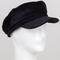 Velvet cabby hat