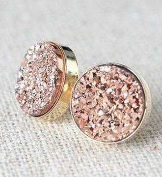 jewels earrings jewelry rose