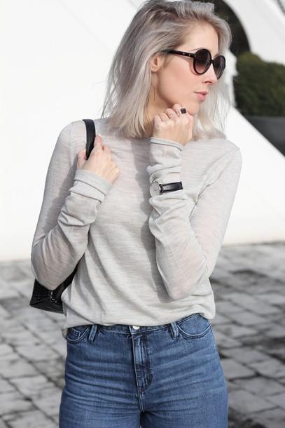 my dubio blogger top jeans shoes sunglasses jewels