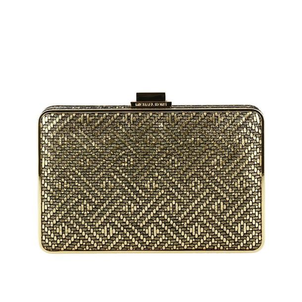 MICHAEL Michael Kors women bag clutch shoulder bag gold