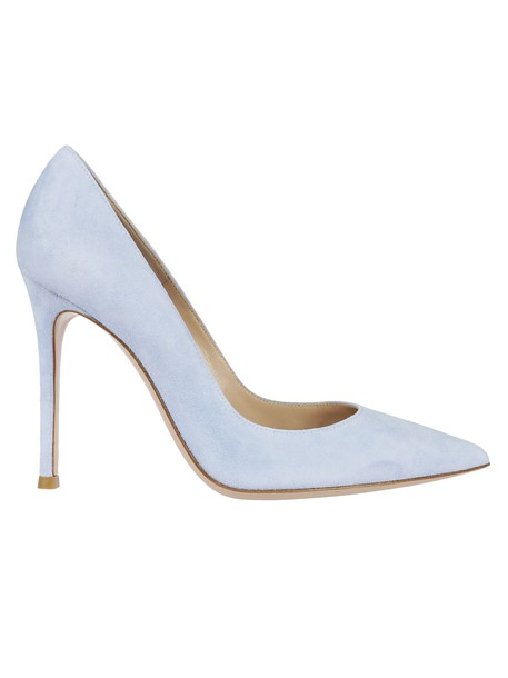 Gianvito Rossi classic pumps blue shoes