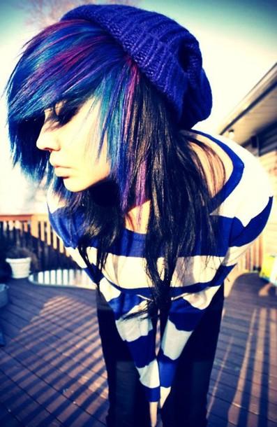 shirt clothes blue white