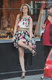 gossip girl,blair,waldorf,leighton meester,black shoes,brown shoes,shoes