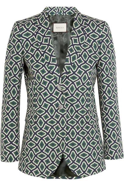 blazer cotton jacket
