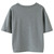 Gray Embroidery Letter Patch Bottle Short Sleeve T-shirt - Choies.com