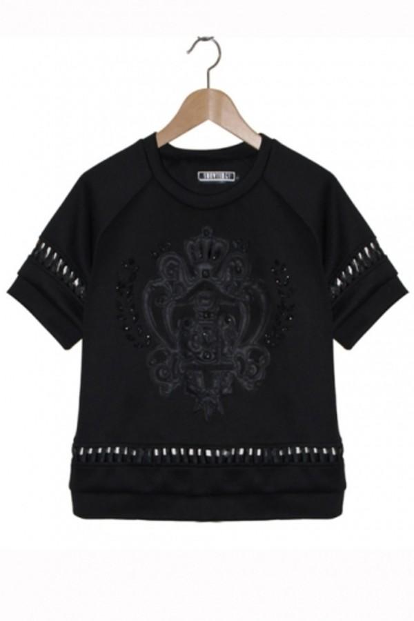 shirt persunmall t-shirt persunmall t-shirt clothes black t-shirt black