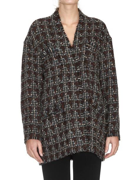 Isabel Marant coat burgundy