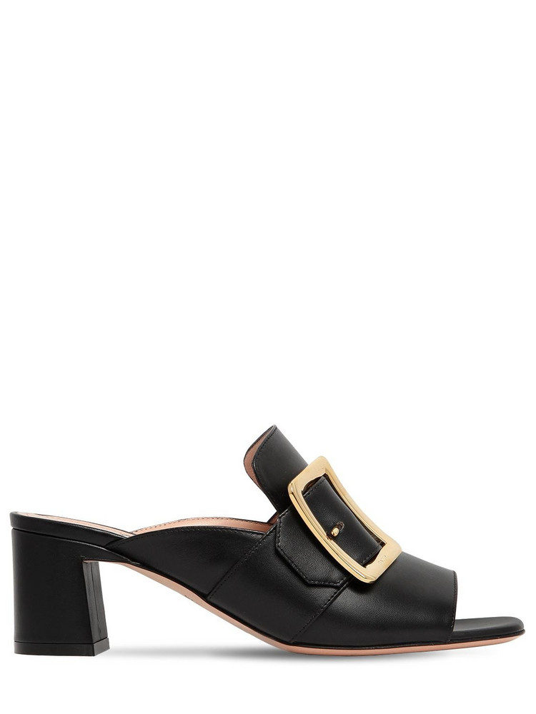 BALLY 55mm Janaia 55 00 Leather Sandals in black