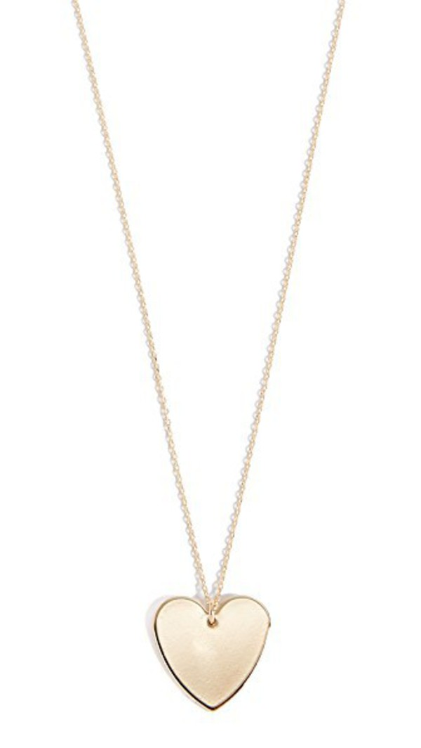 Cloverpost Heart Necklace in gold / yellow
