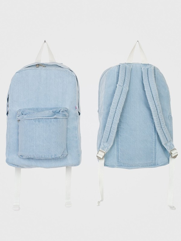 bag denim blue backpack denim backpack