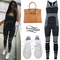 Kylie jenner: striped jumpsuit, white sneakers | steal her style