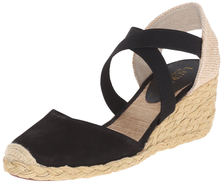 Black sandals on amazon - Amazon Com Lauren Ralph Lauren Women S Casandra Espadrille Wedge Sandal Black Elko Nubuck 7 B Us Shoes