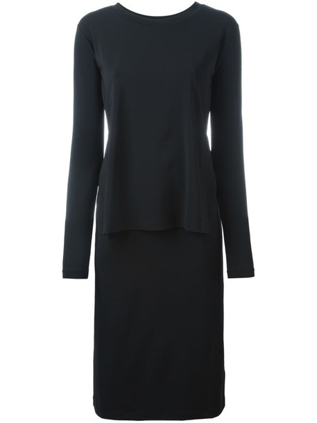 Mm6 Maison Margiela dress women spandex black