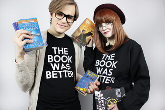 t-shirt zaful book geek quote on it school uniform movies black sweater