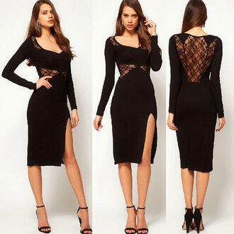 dress sexy lace black sexy dress women's hipster quote on it style boho grunge girl summer dope trendy pretty girl swag