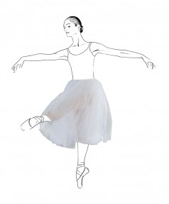 Tutus & jupons danse repetto