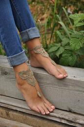 socks,sandels,barefoot sandels,crocheted sandels