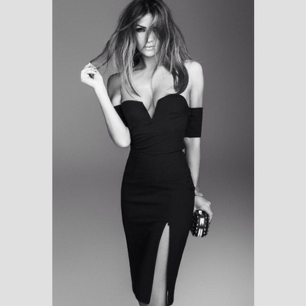 dress blac black dress