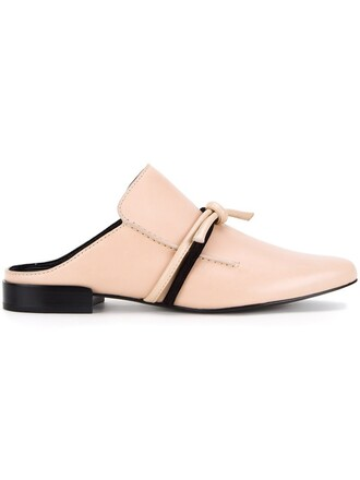 mules nude shoes
