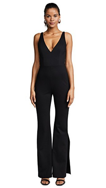 Amanda Uprichard jumpsuit black