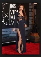 dress,selena gomez,navy,style,underwear,bralette,black dress,lingerie,see through