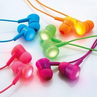 earphones headphones fashion style