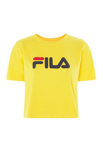 t-shirt shirt t-shirt cropped yellow top