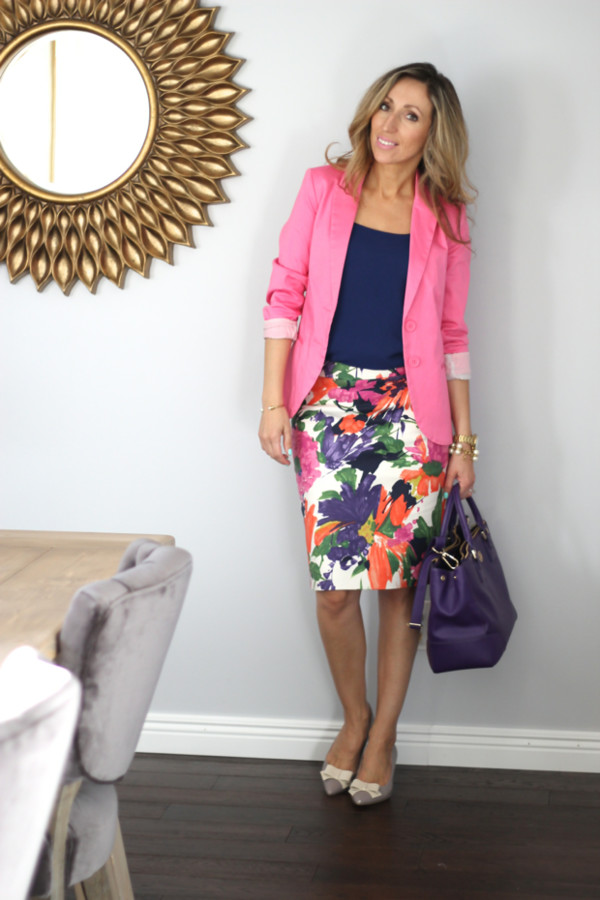lilly's style jacket top skirt shoes bag